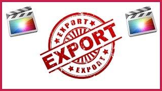 download lagu How To Export  In Final Cut Pro X gratis