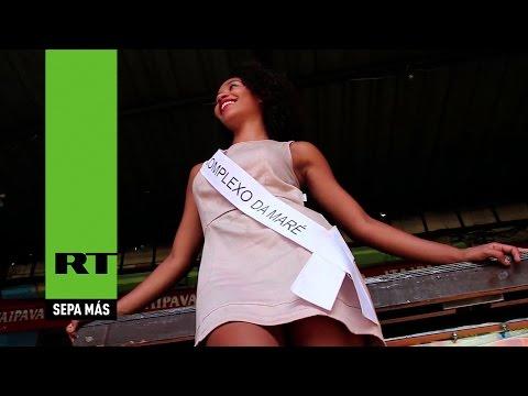 Esta reina de belleza representa a la favela más peligrosa de Río