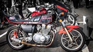 SUZUKI GSX400E 2気筒 Cafe Racer Custom Bike