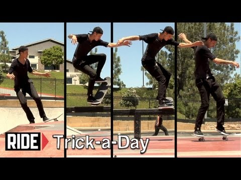 How-To Backside Blunt Slide With Chris Troy - Trick-a-Day