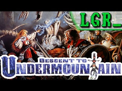 LGR - Descent To Undermountain - DOS PC Game Review