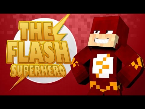 Minecraft Mods ★ THE FLASH - SUPERHERO ★ Crazy Craft 2 [Ep.5]