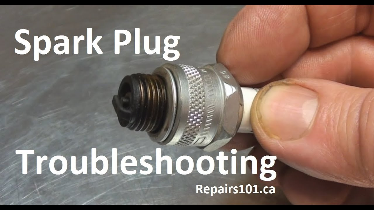 Spark Plug Troubleshooting Youtube