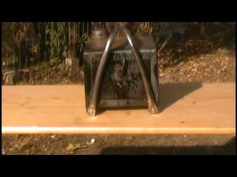 Ultimate portable home made survival camp  wood stove fa tuzelesi kalyha soba de lemne
