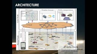 ANDROID IEEE 2013 |T-Drive Enhancing Driving Directions with Taxi Drivers' Intelligence