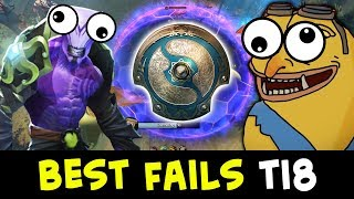 Best FAIL and FUN plays — The International 2018 qualifiers