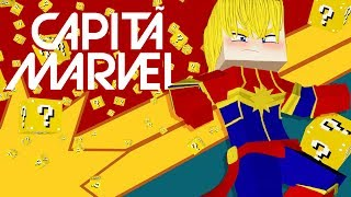 Minecraft: ESCADONA - CAPTÃ MARVEL ‹ AMENIC ›