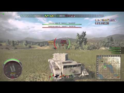 World of Tanks PS4: Cromwell = Michael Jordan at the buzzer