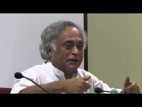 Jairam Ramesh at the TISS Panel in Climate Policy Post 2015