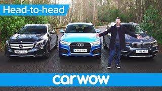 BMW X1 vs Mercedes GLA vs Audi Q3 2017 SUV review | Mat Watson Reviews