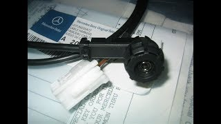 Установка AUX кабеля Mercedes W203 C-Class