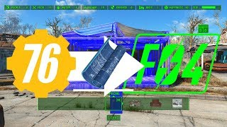 Fallout 76 Blueprinting in Fallout 4!