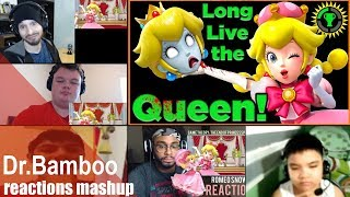 Game Theory: The END of Princess Peach! REACTIONS MASHUP