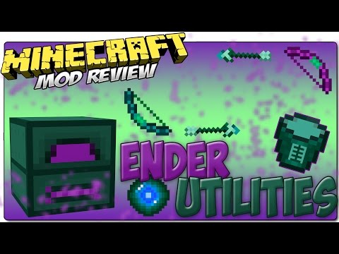 ENDER UTILITIES MOD MINECRAFT 1.8 y 1.7.10 | ¡Items del End! | MINECRAFT MOD REVIEW ESPAÑOL