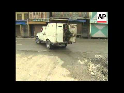 INDIA: KASHMIR: ELECTIONS MARRED BY VIOLENT CLASHES