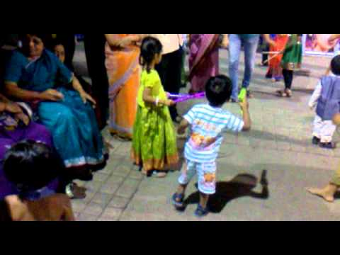 Om Dancing in Dandiya.mp4
