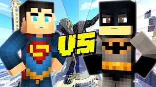 BATMAN vs SUPERMAN - Minecraft