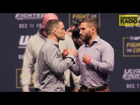 Ultimate Fighter 22 Finale: Frankie Edgar vs. Chad Mendes staredown
