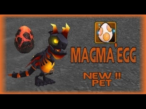 Arcane Legends - New Pet《magma》