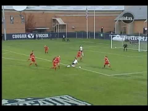 MWC Women's Soccer: New Mexico's Elizabeth Lambert vs BYU