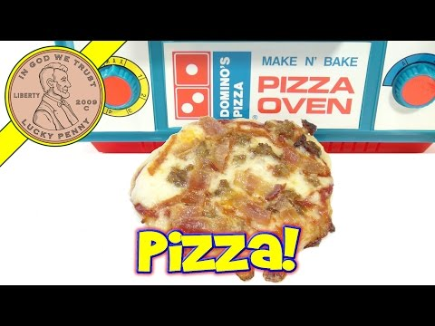 Domino's Make N' Bake Pizza Oven -  Meat Lover's Pizza!