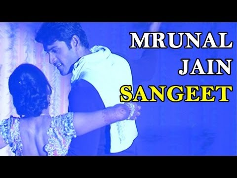 Mrunal Jain Performs With His Fiance Sweety At His Sangeet video