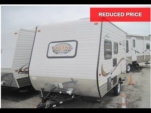 Unique PRICE REDUCED NEW 2013 Coachmen Viking 14R Travel Trailer