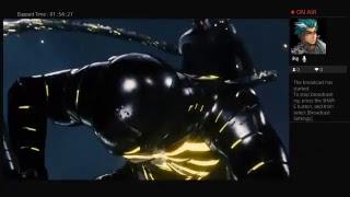 Kushganggaming spider-man ps4 iron spider