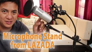 Microphone Stand from Lazada
