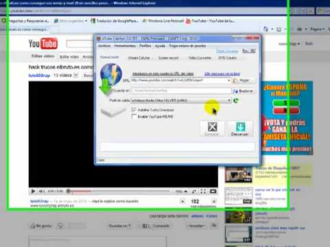 Como descargar videos de Youtube 2012 gratis