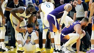 Stephen Curry Broken Hand! Suns Beat Warriors! 2019-20 NBA Season