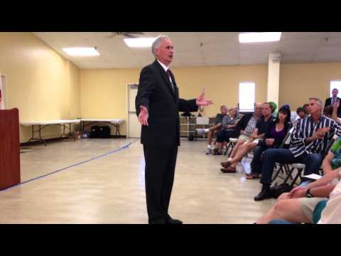 Tom McClintock Town Hall Meeting, Roseville CA, August 7, 2013