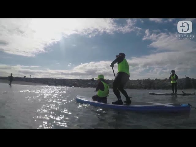 Morning SUP Fishing 2017/11/12[Sun]│Gravity Channel