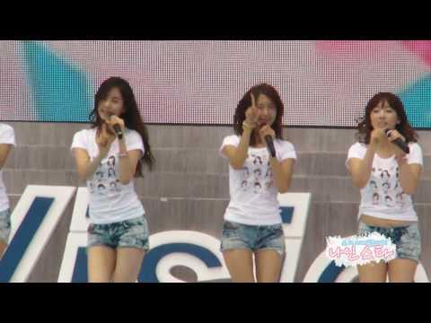 Fancam 100618 SNSD - Oh! GeeSangam B.C. Ceremony