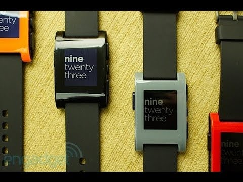 Pebble Smartwatch Hands On | Engadget At CES 2013