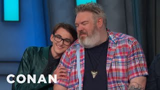 Kristian Nairn: Hodor Would Forgive Bran Stark  - CONAN on TBS