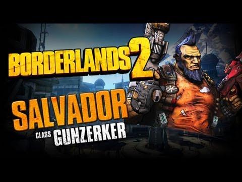 Borderlands 2 Class Spotlight - Gunzerker