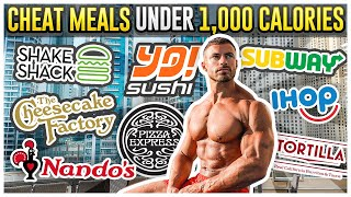 10 Cheat Meals Under 1,000 Calories