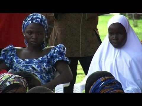 Girls who escaped Boko Haram make Abuja appearance