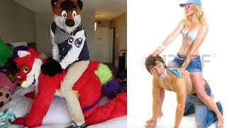 Furries Recreate Weird Couple Poses (w/ Fjord Frost)