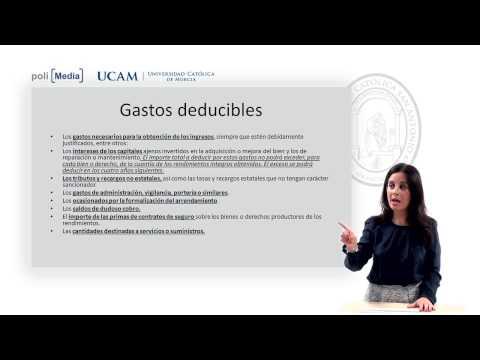 Derecho Financiero y Tributario II -  Rendimiento de capital inmobiliario - Patricia Blanco