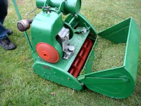 Ransomes Matador 24 Quot Cylinder Lawnmower Youtube