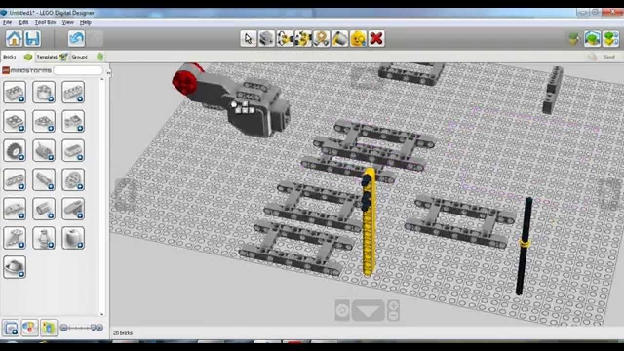 lego digital designer tips and tricks 1 2 youtube. Black Bedroom Furniture Sets. Home Design Ideas