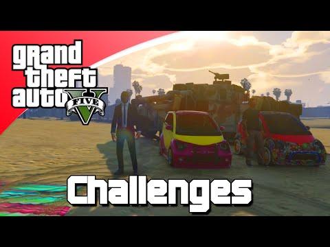 GTA V Challenges #3 - OVERLEVEN MET DE PANTO OP DE MILITAIRE BASIS! (GTA 5 Online)