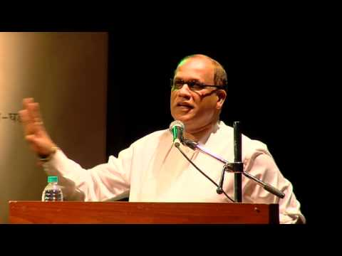 Mr Digambar Kamat Speech at Matrubhoomi Puraskar part 1
