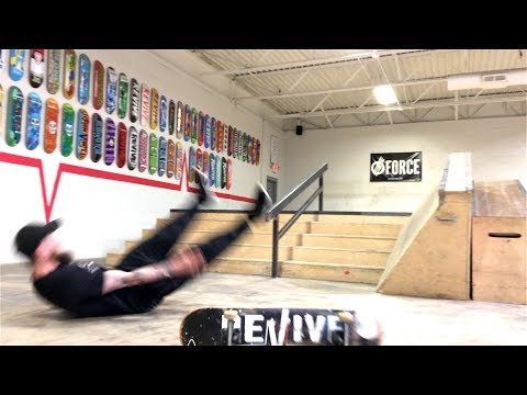 Extremely Sore Skateboarding