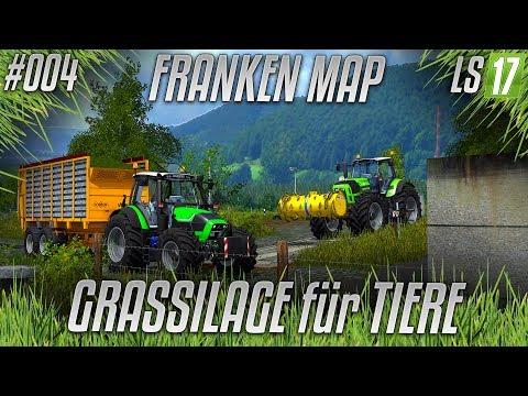 LS17 - Franken Privatumbau #004 - GRASSILAGE für TIERE [HD] [german]