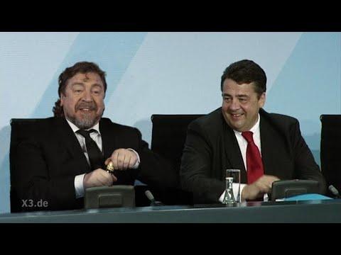 Der Bodyguard von Sigmar Gabriel | extra 3 | NDR