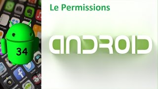 Come creare app android - 34: Permission android
