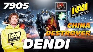 Dendi Sniper CN Destroyer - Na'Vi vs EHOME - Dota 2 Pro Gameplay